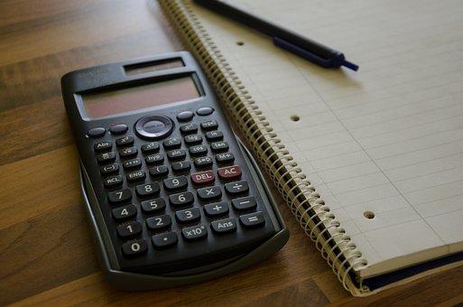 Calculator, Notepad, Calculation, Pen, Notes