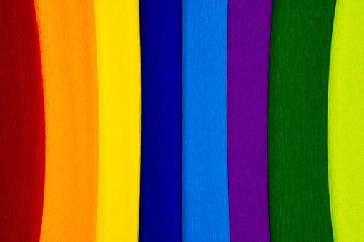 Paper, Crepe, Crepe Paper, Colorful, Color, School