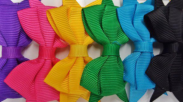 Hair Bows, Bows, Fashion, Colorful, Colors, Girly