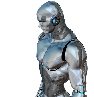 Man, Muscular, Robot, Cyborg, Android, Robotics, Future