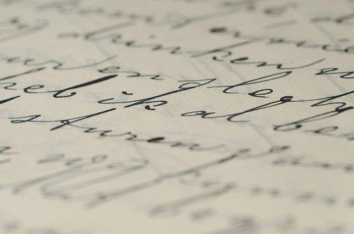 Letter, Handwriting, Family Letters, Written, Pen, Ink