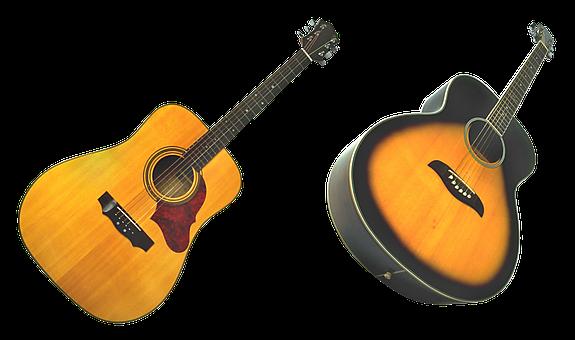 Guitar, Acoustics, Musical Instrument