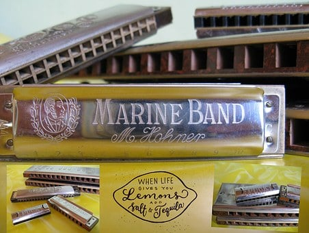 Harmonica, Instruments, Music, Musical Instrument