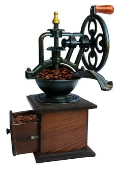 Coffee, Grinder, Old, Crank, Mill, Historically
