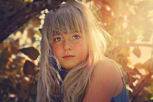 Girl, Child, Pretty, Person, Human, Female, Blond
