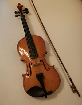 Violin, Bow, String, Wooden, New, Instrument, Musical