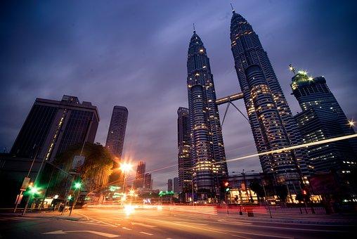 Kuala Lumpur, Petronas Twin Towers, Malaysia, Klcc