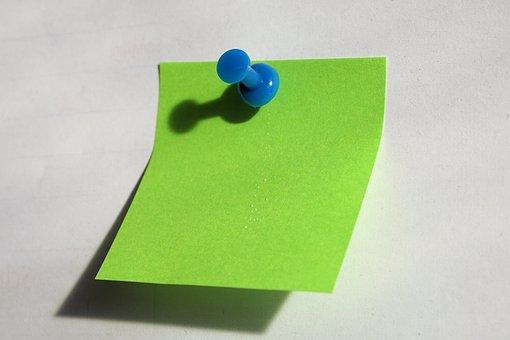 Post It, Note, Office, List, Memo, Memory, Paper