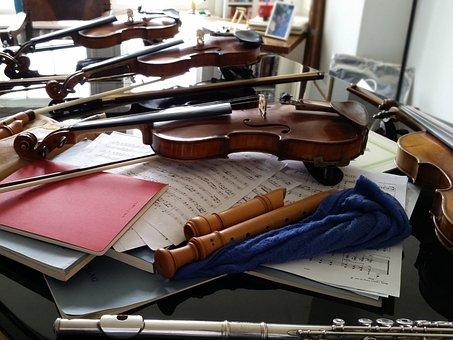 Instrument, Violin, Flute, Music, Classic