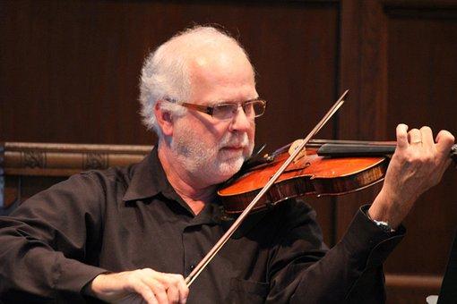 Violin, Orchestra, Music, Instrument, Violinist, String