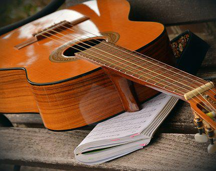Guitar, Play Guitar, Musical Instrument, Song Book
