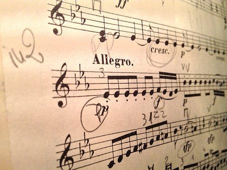 Violin, Music, Score, Mozart, Performance, Orchestra