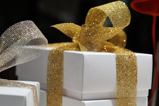 Gifts, Gift, Surprise, Packaging, Tape, Christmas, Box