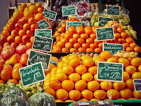 Fruit Stand, Fruits, Produce, Harvest, Organic