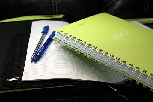 School Book, Binder, Folder, Notebook, Paper, Student