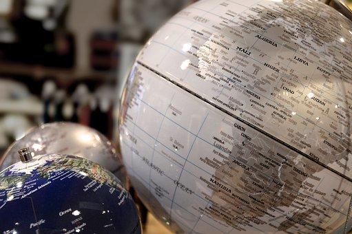 World, Globe, Africa, Stationery, Gifts, Shopping