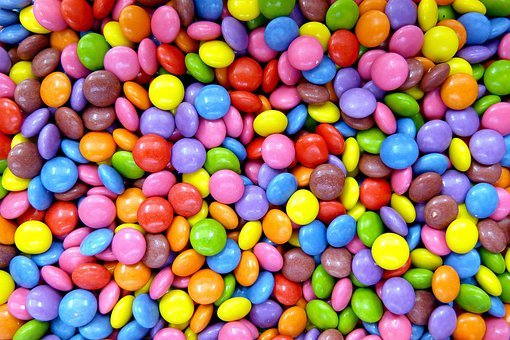Smarties, Confectionery, Lenses