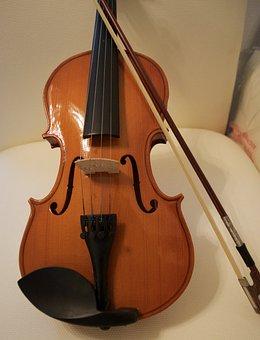 Violin, Bow, Bridge, Student Instrument
