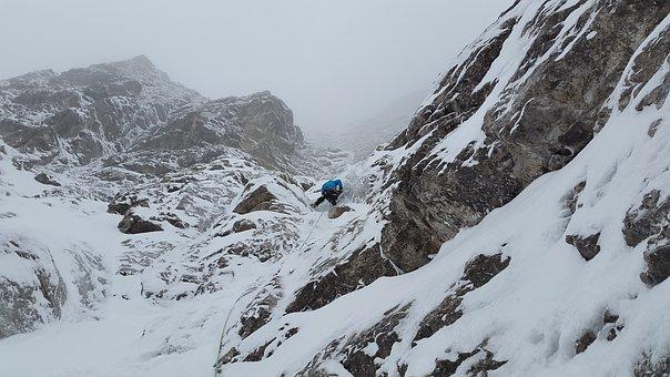 Mixed-climbing, Ice Climbing, Climb, Rock, Allgäu