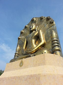 Budha, Asia, Buddhism, Statue, Religious, Religion