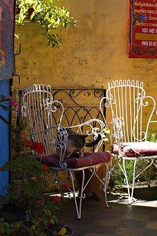 Court, Backyard, Still Life, Colorful, Caminito