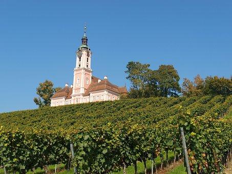Birnau, Church, Religious Building, Rococo, Style