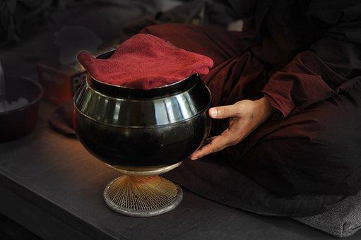 Theravada Buddhism, Monk's Bowl, Buddhist, Bowl