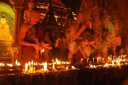 Myanmar, Yangon, Burma, Buddhism, Buddhist