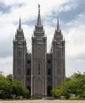 Building, Church, Mormons, Salt Lake City, Religion