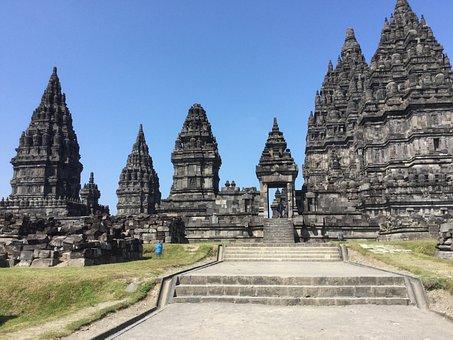 Prambanan, Indonesia, Temple, Candy