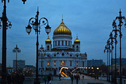 Christ The Savior Cathedral, Moscow Temple