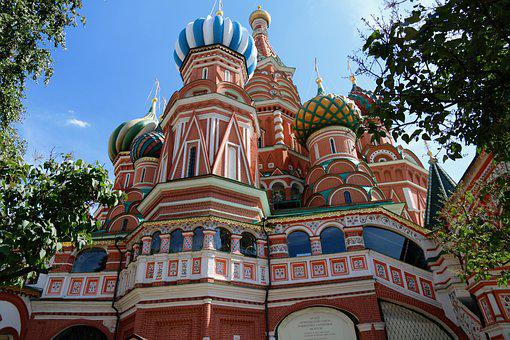 Red Square, Church, St-basile, Saint Basil's Cathedral