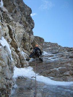 Mixed-climbing, Ice Climbing, Climb, Climber, Alpinism