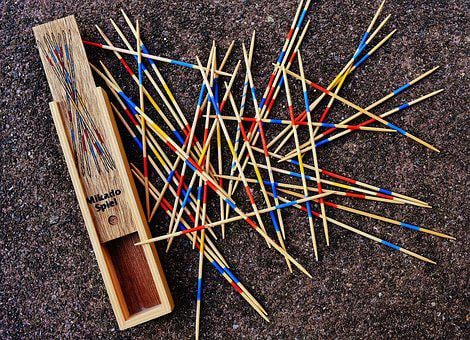 Mikado, Play, Puzzle, Skill, Colorful, Wooden Sticks