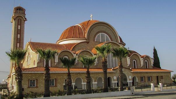 Cyprus, Dherynia, Church, Orthodox, Architecture