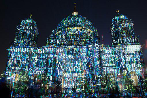 Berlin, Darkness, Lighting, Dom, Capital, Landmark