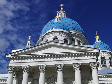 Russian Church, Dome, Architecture, Traditional