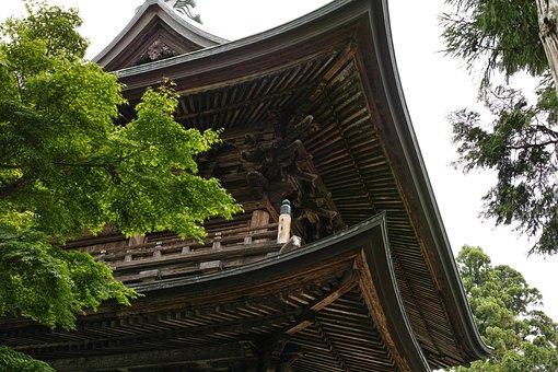Enkakuji Temple, Temple, Kamakura, Japan, Roof