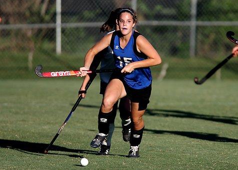 Field Hockey, Game, Action, Girls, Sport, Stick