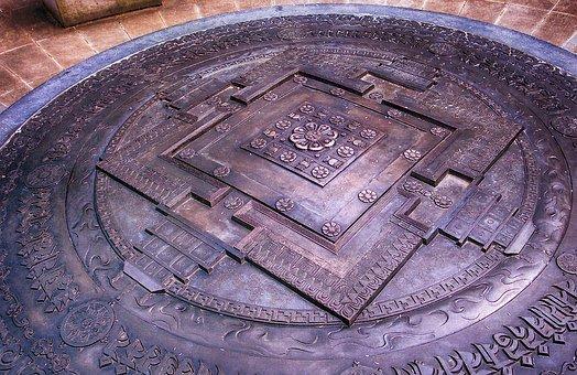 Buddhism, Mandala, Kalachakra, Spiritual, Geometry
