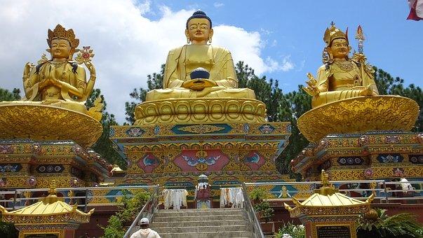 Nepal, Swayambhunath, Buddhist, Kathmandu, Buddhism