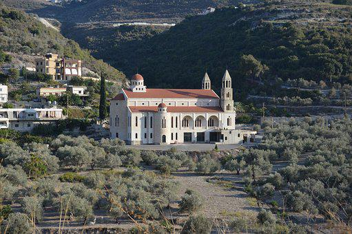 Lebanon, Church, Marouniten, Valley