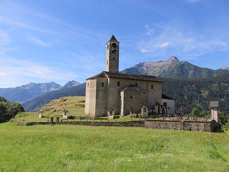 Leventina, Stada Alta, Church