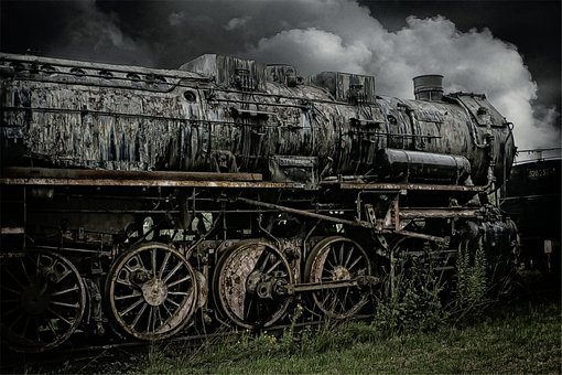 Loco, Steam Locomotive, Train, Railway, Out Of Date