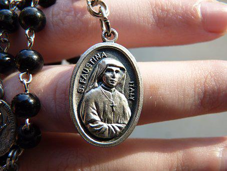 St Faustina, Religious, Medal, Historical, Faustina