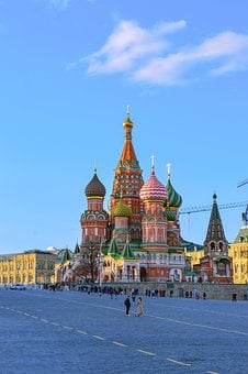 St Basil's Cathedral, Red Square, Moscow