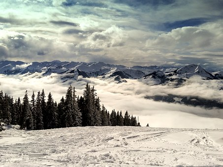 Mountains, Kitzbühel, Alpine, Mountain, Austria, Tyrol