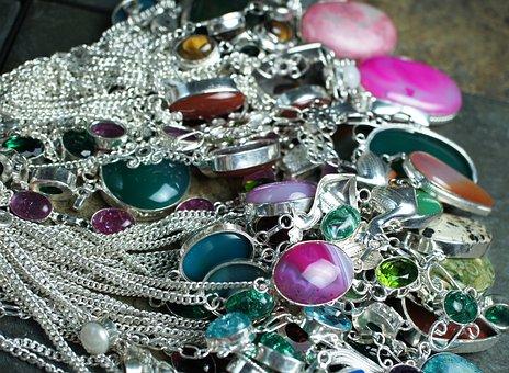 Gemstone, Necklaces, Chokers, Colorful, Gemstones, Gems