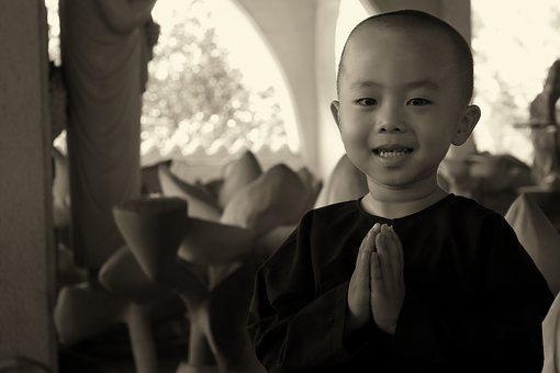 Monk, Nun, Religion, Pray, Temple, Religious, History