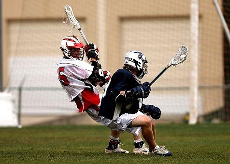 Lacrosse, Players, Clash, Conflict, Stick, Sport